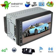 Android 9.0 Doppel 2 DIN Autoradio 1+16GB GPS Navi DAB USB FM WiFi RCA BT+Kamera