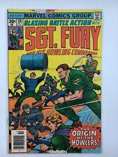 1976 SGT. FURY #136 Marvel BRONZE AGE