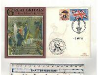 GB.2005   BENHAMS  FDC. NELSON,BATTLE OF COPENHAGEN. SPECIAL HANDSTAMP .