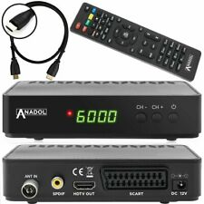 Anadol HD 202c digitaler Full HD Kabel Receiver (HDTV, DVB-C / C2, HDTV 1080P)