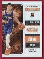 DEVIN BOOKER 2018 CONTENDERS DRAFT PICKS SEASON TICKET CRACKED ICE #09/23 SUNS