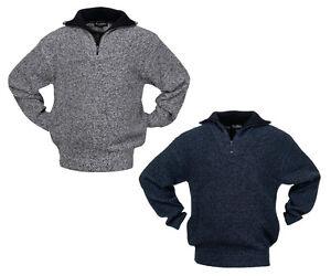 Hochwertiger Arbeitstroyer Troyer Strickpullover Pullover Workwear Handwerker