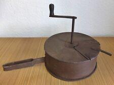 antik großer Kaffeeröster Röstmühle Röster Kaffee Pfannenröster coffee roaster