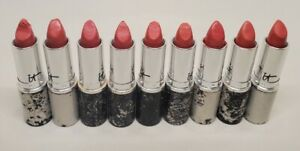 IT COSMETICS BLURRED LINES LIPSTICK JE NE SAIS QUOI PINK .11 OZ RUBBED! READ!