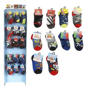 New  1X Boys Character Socks SIZE 7-10