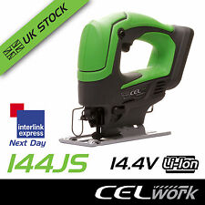 CEL 14.4V Li-Ion Cordless Jig Saw Power Tool - Battery not included