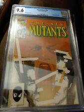 New Mutants #26 CGC 9.6 White Pages 1st Full App Legion Marvel Comics (1985)