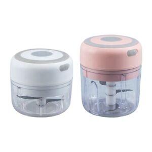 Elektrisch Küchenmaschine Mixer Zwiebelschneider Mini Knoblauchzerkleinerer
