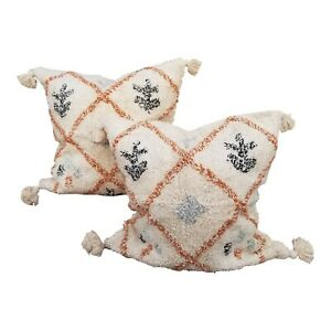 """Set of Boho Chic Moroccan """"wedding"""" Pillow Covers"""