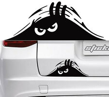 2018 2XSUV Door Window Fender Rear Trunk Angry Peeking Monster Decal Sticker