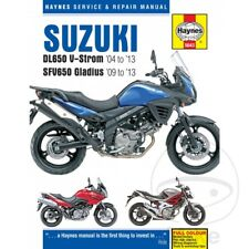 Suzuki DL 650 V-Strom 2011 Haynes Service Repair Manual 5643