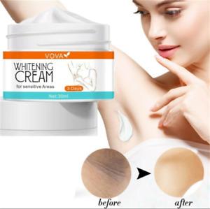 Dark Skin Whitening Cream Armpit Bleaching Brightening Lightning Under Arm Body