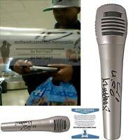 Soopafly DPGC Rapper Signed Autograph Microphone Proof Beckett BAS - Snoop Dogg