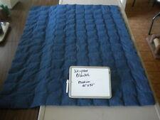 "Weighted Blanket handmade M 40"" X 52"" autism sensory processing restless leg"