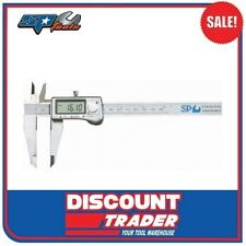 "SP Tools Digital Vernier Caliper 150mm / 6"" (0.01/0.0005"" Reading) - SP35631"