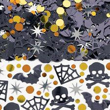 HALLOWEEN *Shocktails* Table Confetti shiny foil sprinkles Bats Webs Skulls