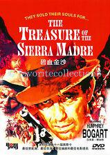 The Treasure of the Sierra Madre (1948) - Humphrey Bogart, Walter Hust - DVD NEW