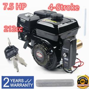 4-Stroke 7.5HP Electric Start For OHV Gasoline Engine Kart 3600RPM Pull Motor