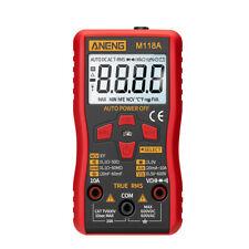M118A Digital Multimeter True RMS AC/DC Voltage Current Meter NCV Tester L&6