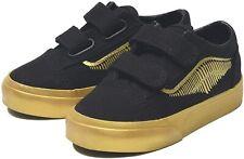 Vans Infant Toddler X Harry Potter Golden Snitch Black Old Skool Shoes (6T)