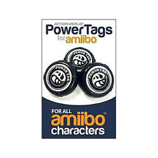 NEW GENUINE ACTION REPLAY POWERTAGS FOR AMIIBO FOR NINTENDO WIIU 3DS SWITCH - X6