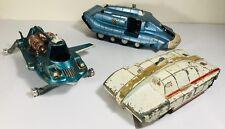 Vintage Dinky Toys Tv Modelos capitán escarlata SPV la máxima seguridad & Joes coche
