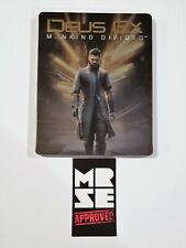 Deus Ex Mankind Divided Steelbook / Case Only from Collector Edition No Game
