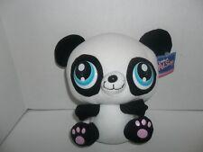 2007 nanco littlest petshop black & white panda teddy bear plush