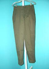 Orig. Unissued Og Army Fatigue Pants Sz. 28 x 30