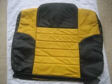 05 06 07 08 09 Ford Mustang Roush Yellow Leather Rear Right RH Top Seat Cover