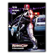 METAL SIGN WALL PLAQUE ROBOCOP Movie Film at poster man cave 80's cinema room