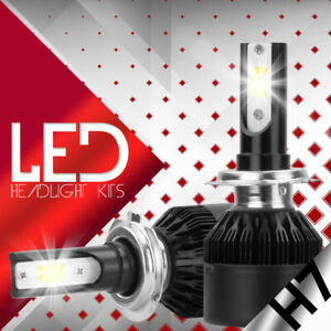 XENTEC LED HID Headlight kit H7 White for Mercedes-Benz ML430 1998-2001