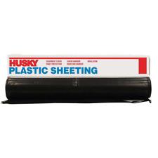 New listing 12 Ft. X 100 Ft. Black 4 Mil Plastic Sheeting