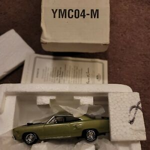 1:43 SCALE MATCHBOX MODELS OF YESTERYEAR 1970 PLYMOUTH ROAD RUNNER. NIB. YMCO4