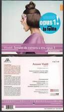 "ANTONIO VIVALDI ""Sonate Da Camera A Tre Opus1"" (CD) L'Estravagante 2012 NEUF"