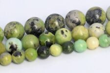 Natural Chrysoprase / Australian Jade Beads Grade A Round Loose Beads 6/8/10MM