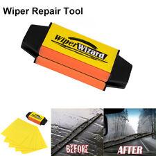 Car Van Wiper Wizard Windshield Wiper Blade Restorer Cleaner with 5 Wizard Wipe