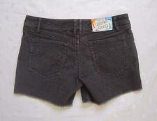 BILABONG  5 Pockets Dark Gray Frayed Hem Corduroy Shorts ~ Size 1 / W29