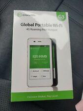 NEW in Box - GlocalMe G3 Global Portable Wi-Fi - 4G Roaming Free Hotspot  Travel