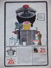 PUBLICITÉ 1964 SUPER-COCOTTE SEB CAFETIÈRE MOKA SEB - VERDIER - ADVERTISING