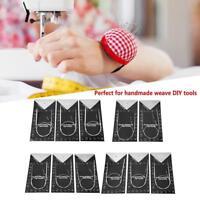 11Pcs 43/65/80cm Long Stainless Steel Circular Knitting Needles Set Weave Tools