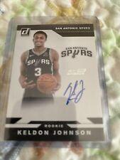 keldon johnson auto rookie/DONRUSS