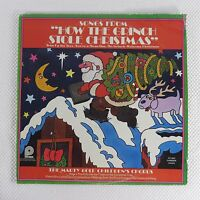 Vtg 1973 Marty Gold Childrens Choir Vinyl Record How The Grinch Stole Christmas