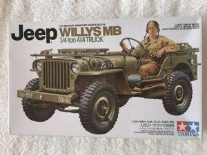 Tamiya 1/35 Willys MB Jeep plastic model kit 35219