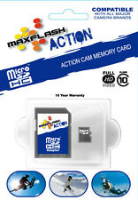 Maxflash 32GB Class 10 Micro SD SDHC Memory Card for GoPro HD Hero 3 Helmet Cam