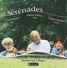 Serenades for Flute, Violin & Viola by Reger & Beethoven, New Music