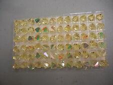 full box,72 swarovski vintage crystal beads,10mm jonquil AB #5301