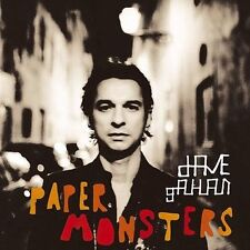 DAVE GAHAN Paper Monsters new CD & DVD (Limited) by David Gahan of DEPECHE MODE