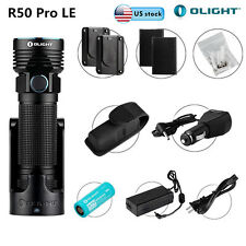 Olight R50 PRO LE Kit 3200Lumens XHP70 Law Enforcement LED Flashlight w/ Battery