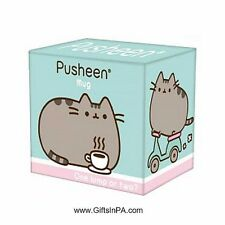 Pusheen the Cat White Ceramic 10 oz Coffee/Tea Mug NIB